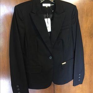 Calvin Klein black blazer jacket